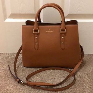 Kate Spade small brown satchel bag